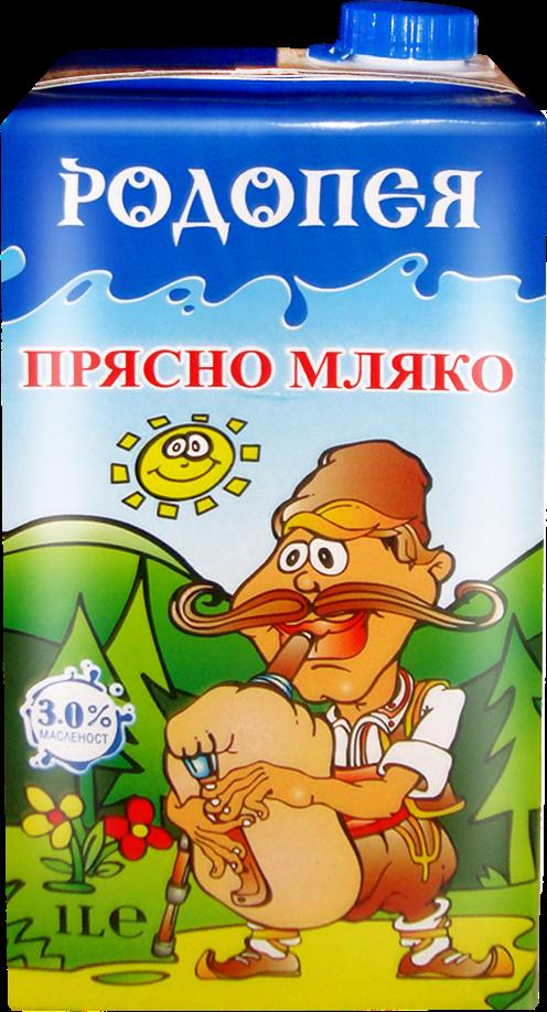 Прясно мляко Родопея 3 1л.