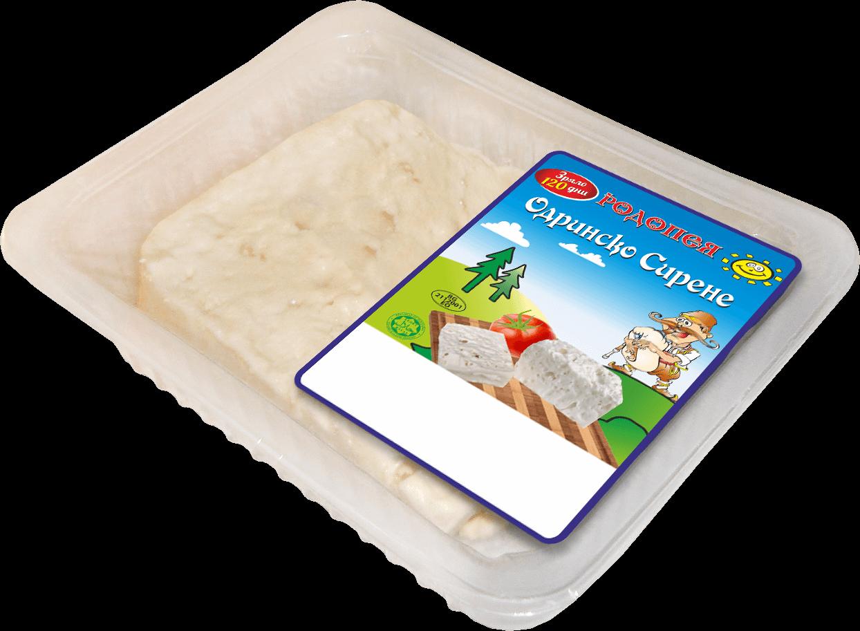 Одринско сирене Родопея зряло 100 дни от краве мляко 0,400гр.
