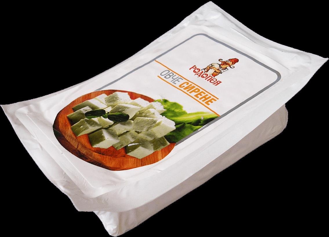 Бяло саламурено сирене от овче мляко Родопея - ваккум 0,200гр.