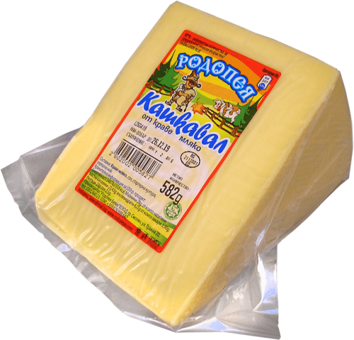 Краве кашкавал Родопея - триъгълен