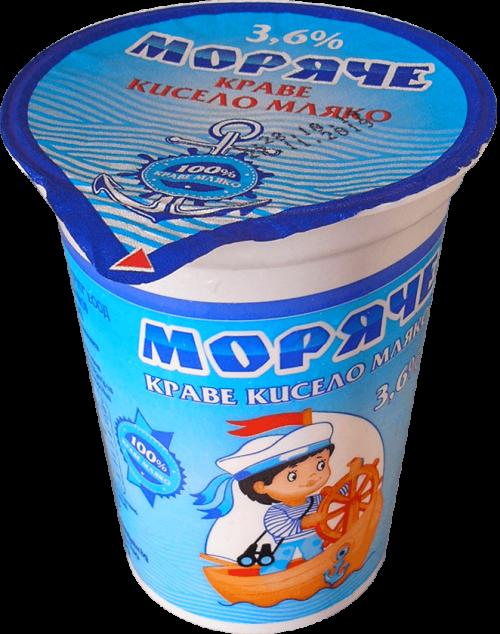 Краве кисело мляко Моряче 3,6 0,370гр.
