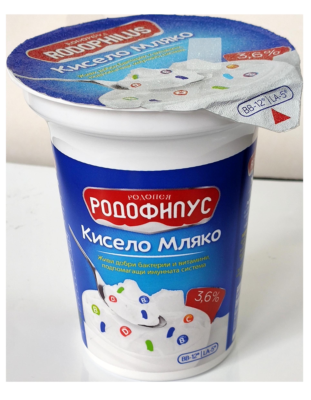 Краве кисело мляко Родофилус 3.6 0,300 гр.
